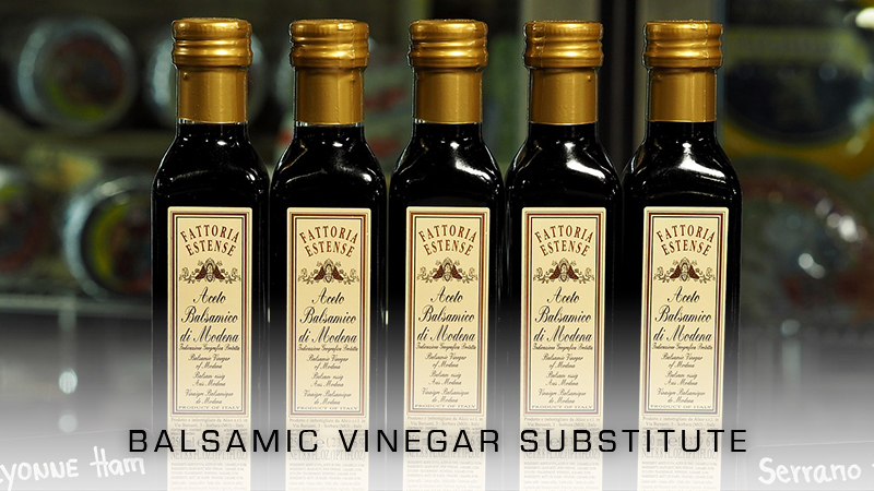 Balsamic Vinegar Substitutes