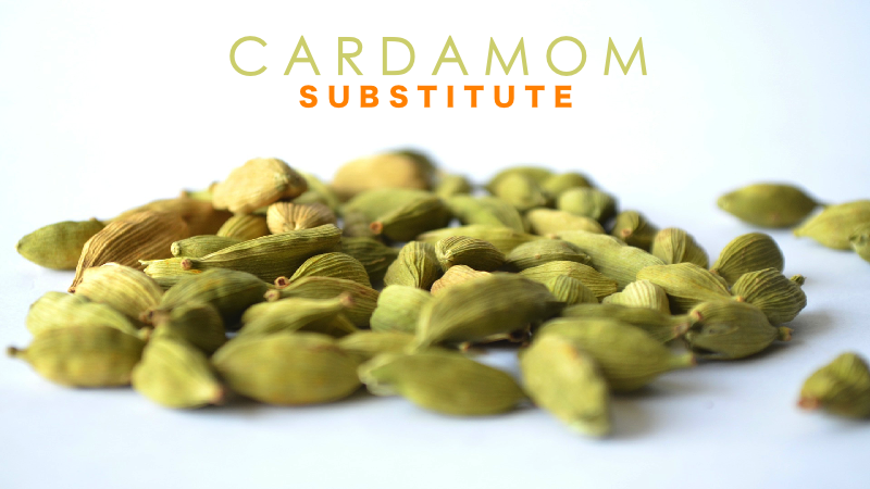 Cardamom Substitute for recipes