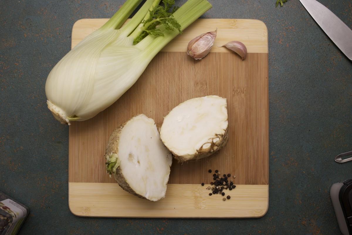 Celeriac as Substitute to Celery