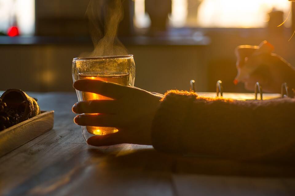 Drinking Tarragon Tea
