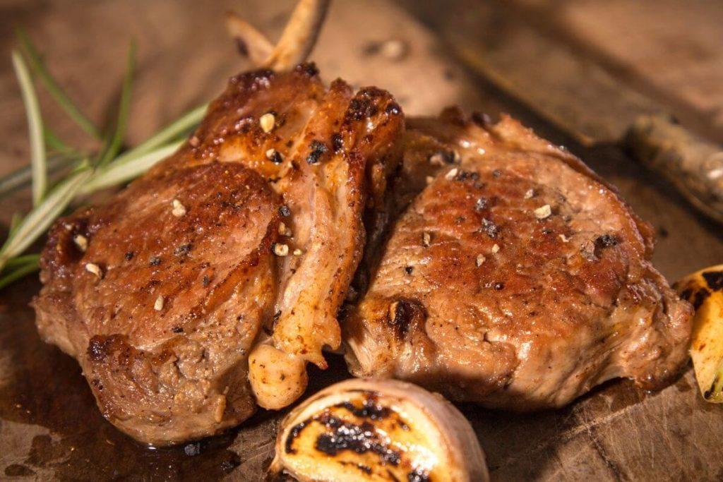 Garlic Lamb Chops
