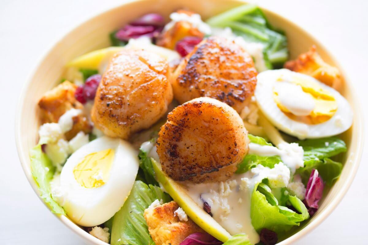 Scallops Salad Recipe