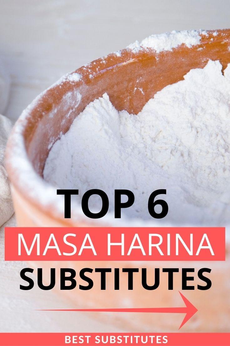 Top Masa Harina Substitutes