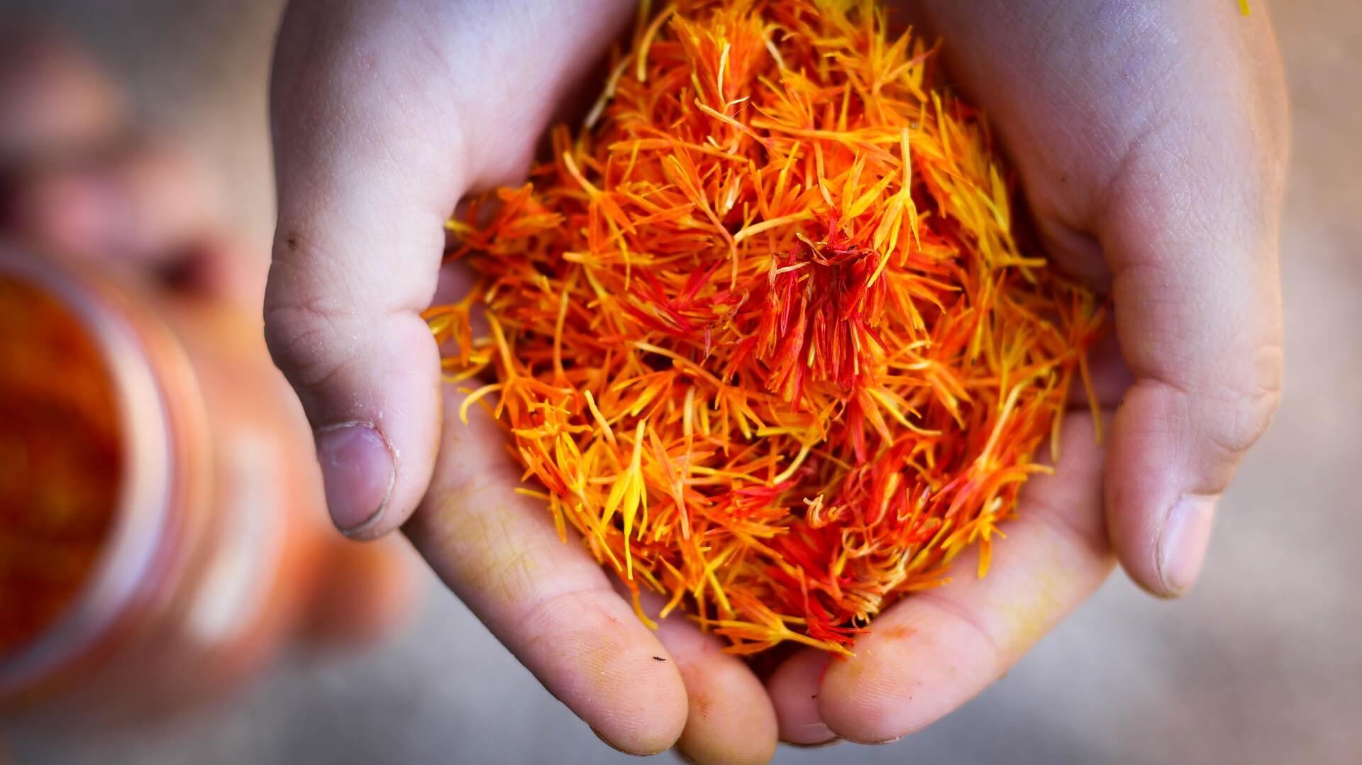 Saffron as Substitute for Turmeric
