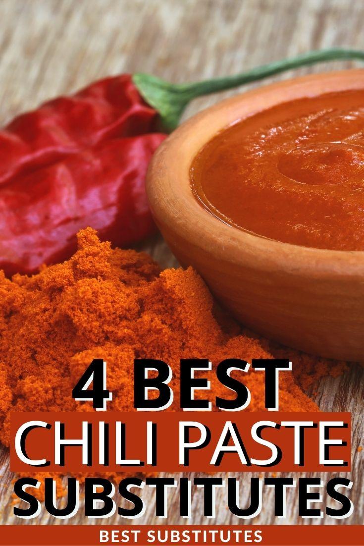 best chili paste substitutes
