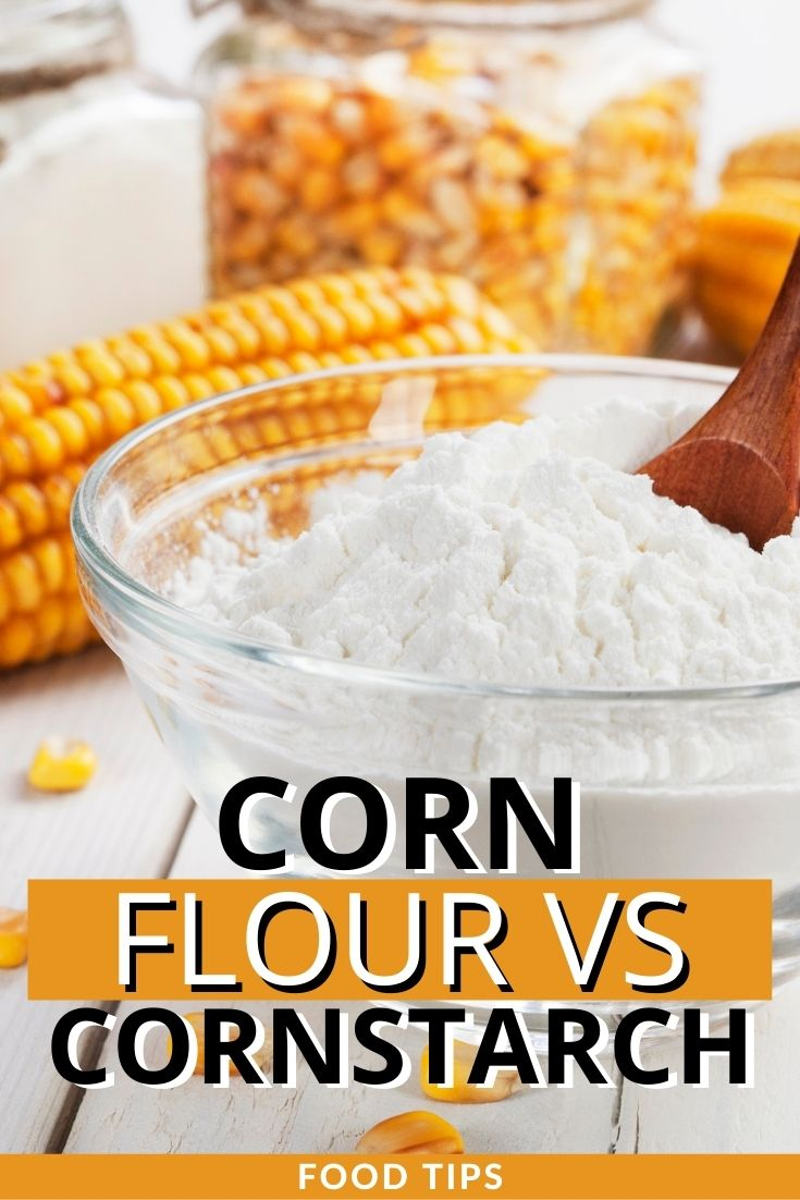 corn flour vs cornstarch