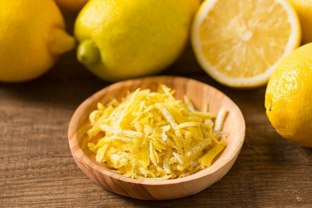 Lemon Zest with Arugula