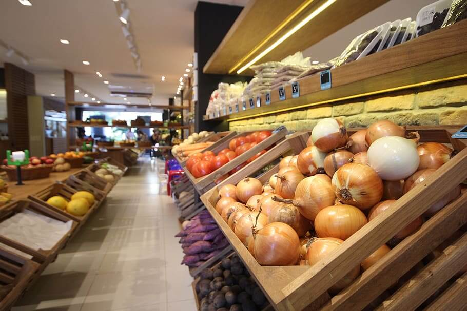 Onions on Grocery