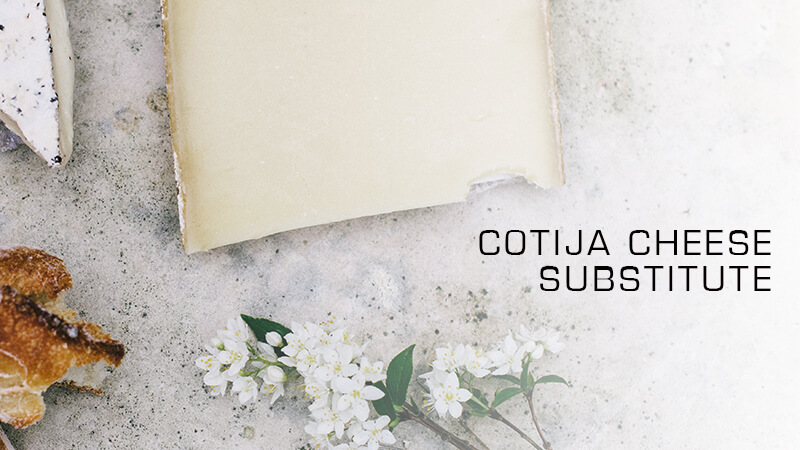 cotija cheese subsitute