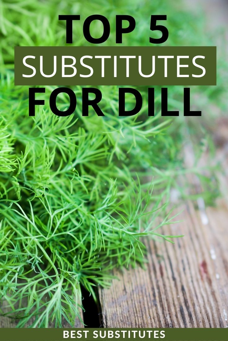 top substitutes for dill