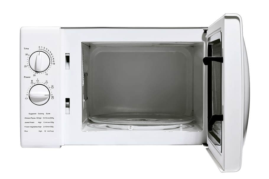 Reheat with a Microwave oven