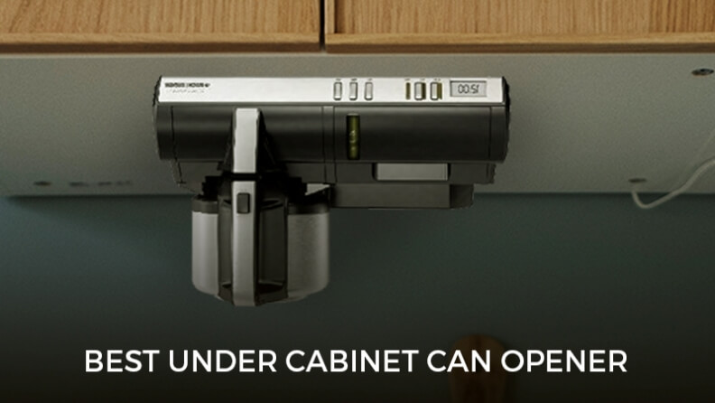 best under cabinet can opener