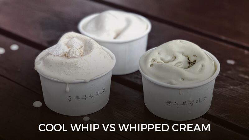 Cool Whip Vs Whipped Cream What Is The Difference Recipe Marker