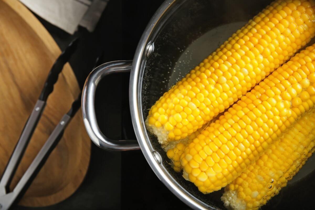 Reheat Corn on the Cob