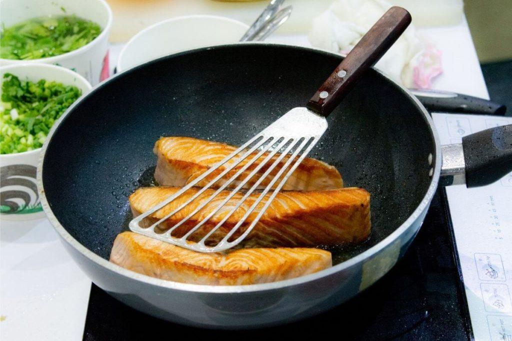 Stovetop - How to Reheat Salmon