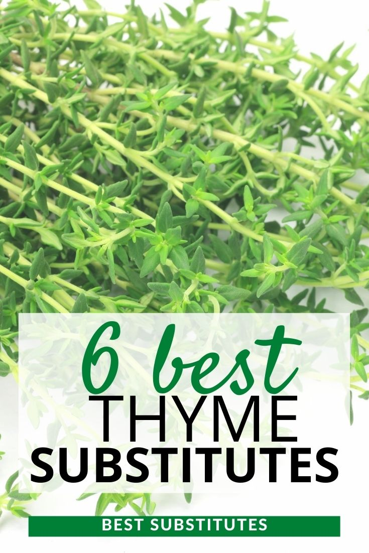 Best Thyme substitutes