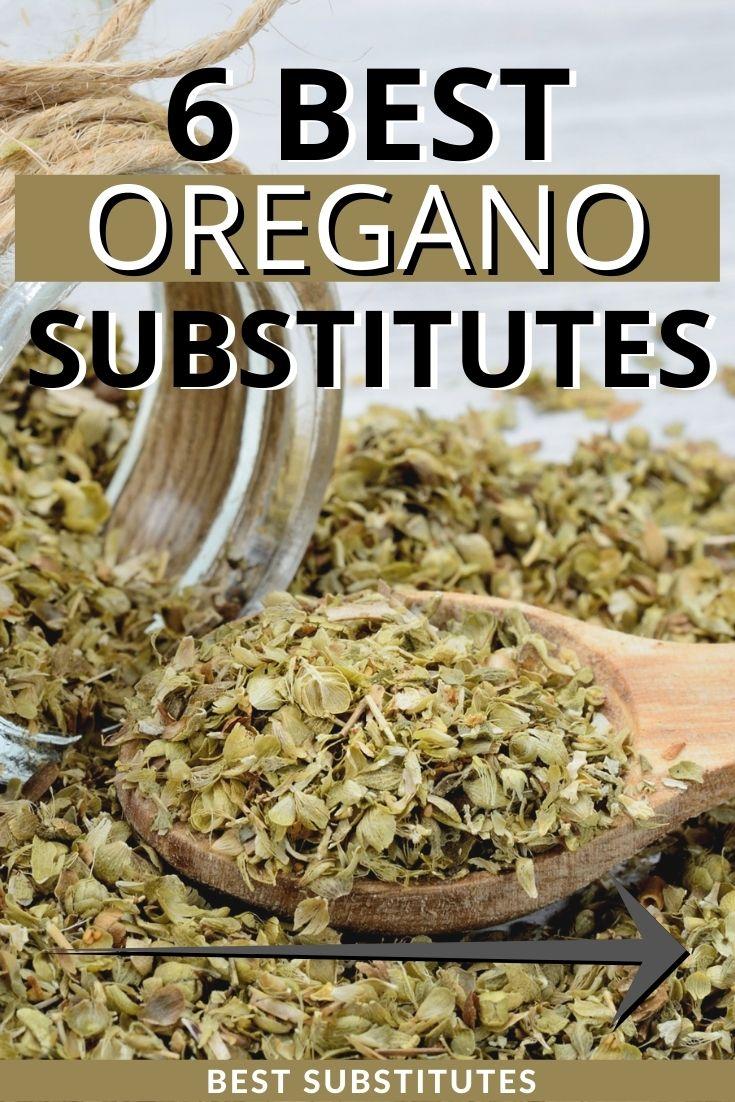 best oregano substitutes