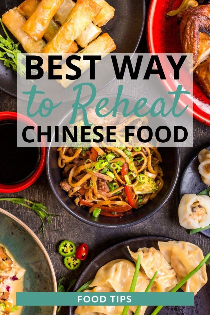how to reheat chinese food
