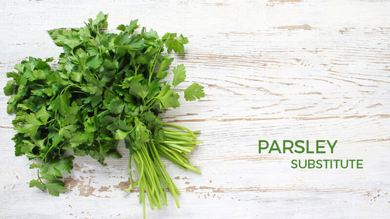 parsley substitutes