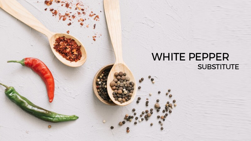 white pepper substitutes