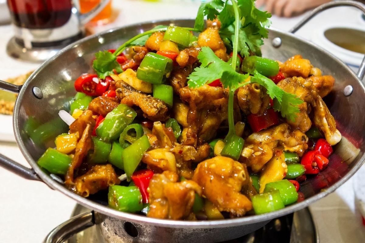 Hunan Chicken Dish