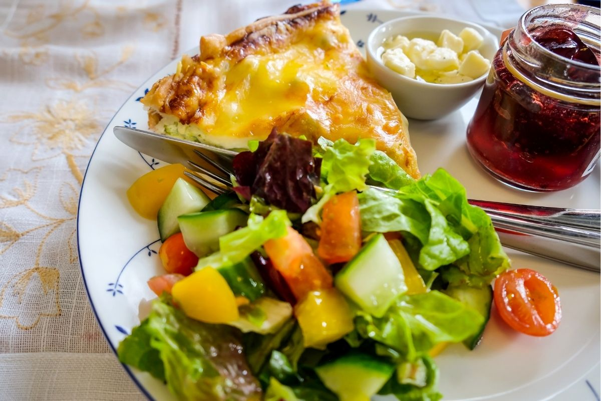 Quiche Meal