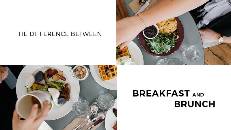 difference between breakfast and brunch