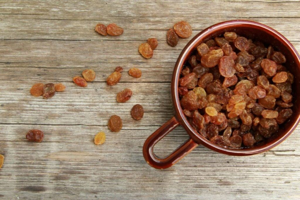 Storing Raisins