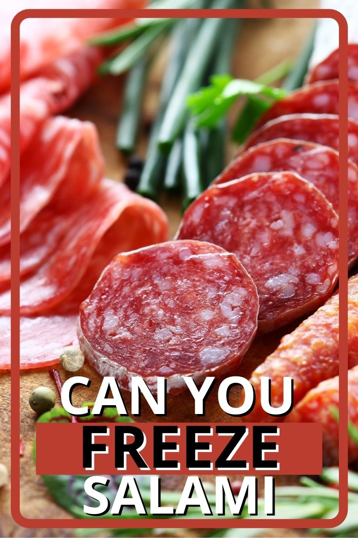 Can You Freeze Salami