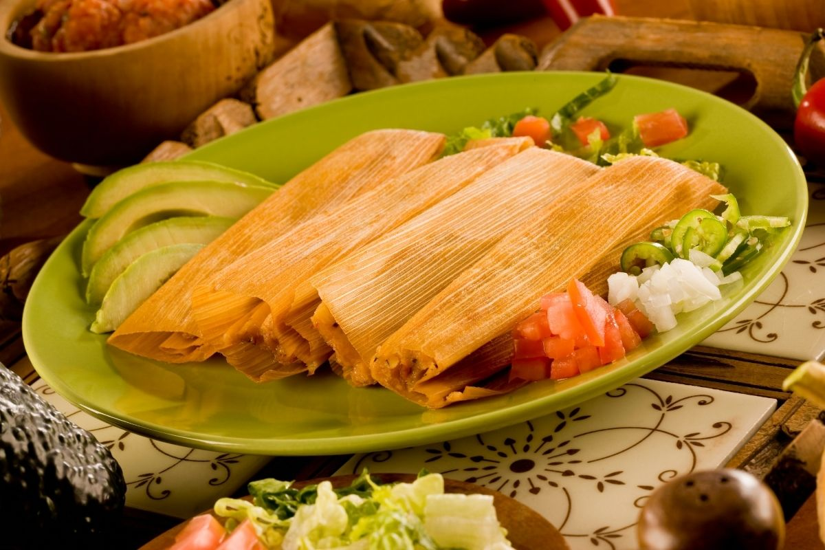 Cooked Tamales