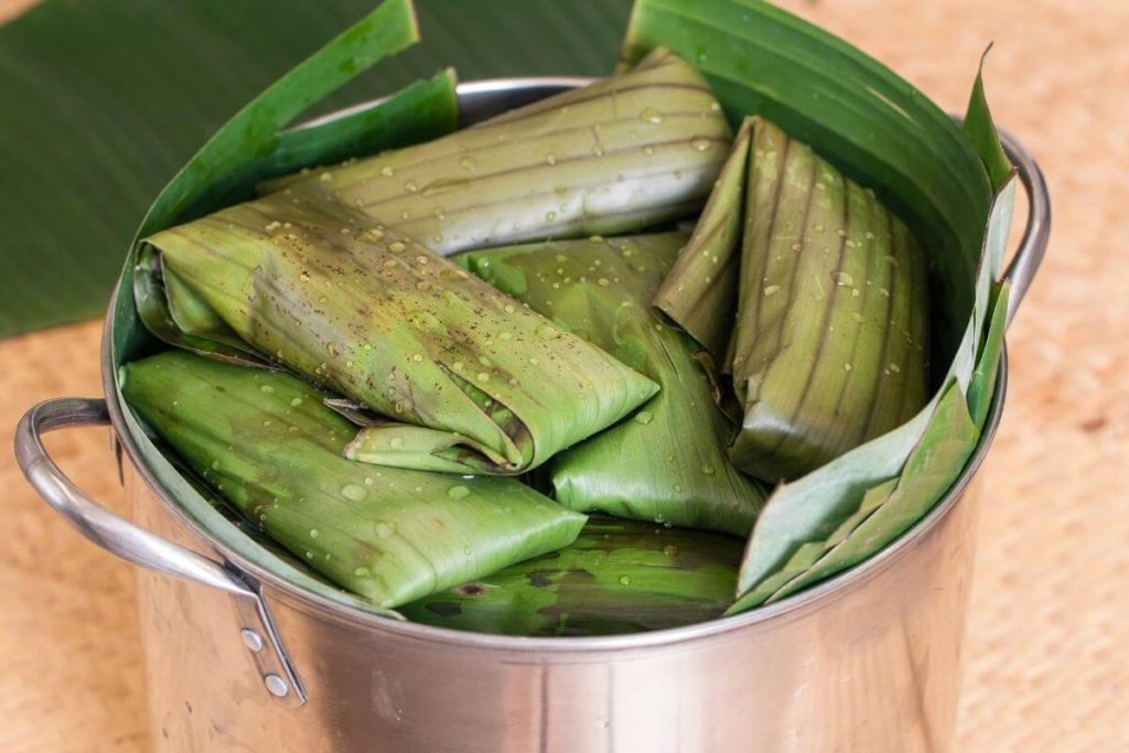 Tamales using Steamer