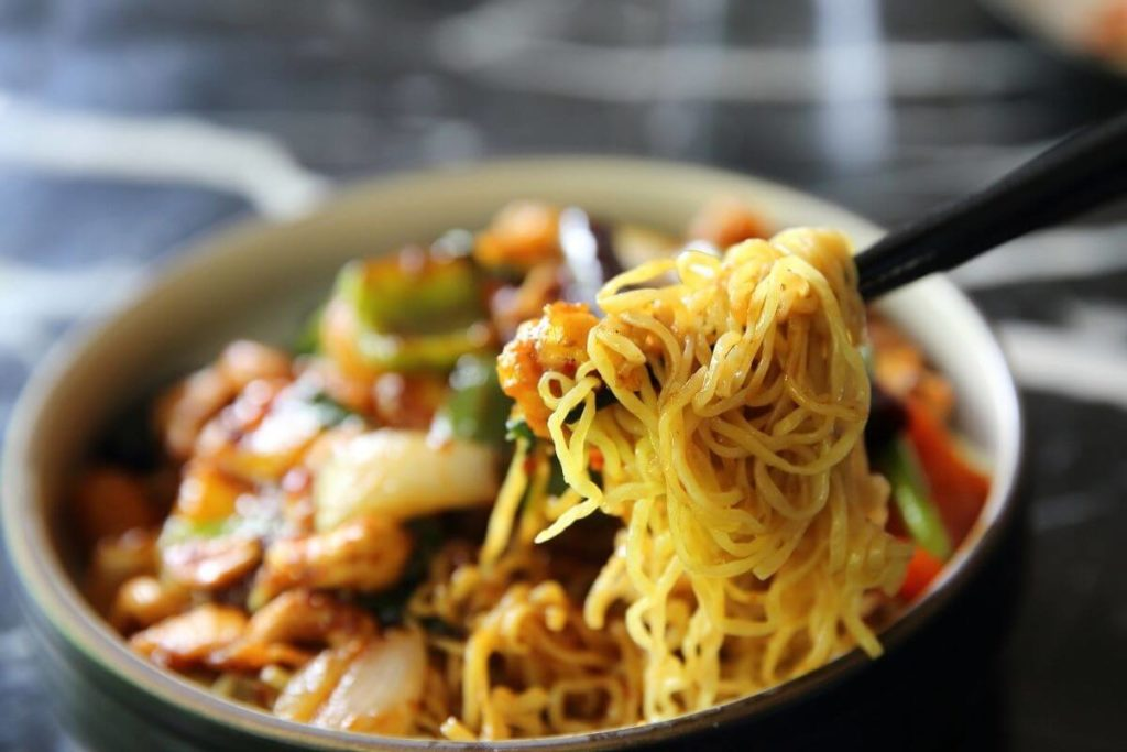 Noodles - Foods That Start With N