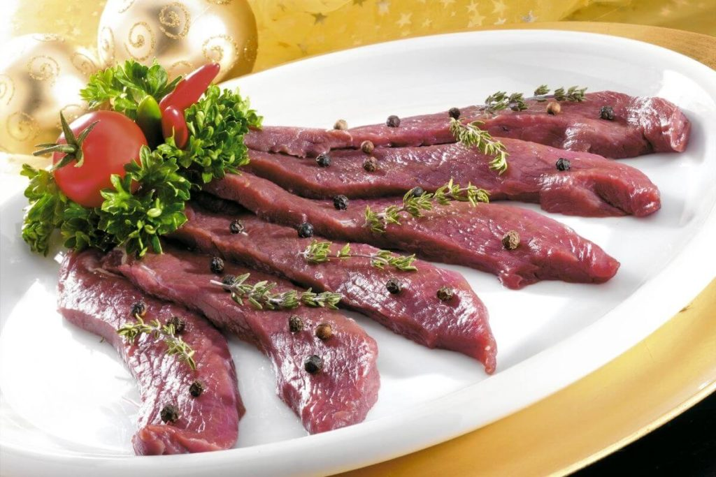 Ostrich Meat - Foods that start with O