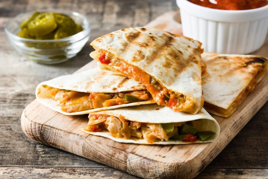 Quesadilla - Foods that start with Q (1)