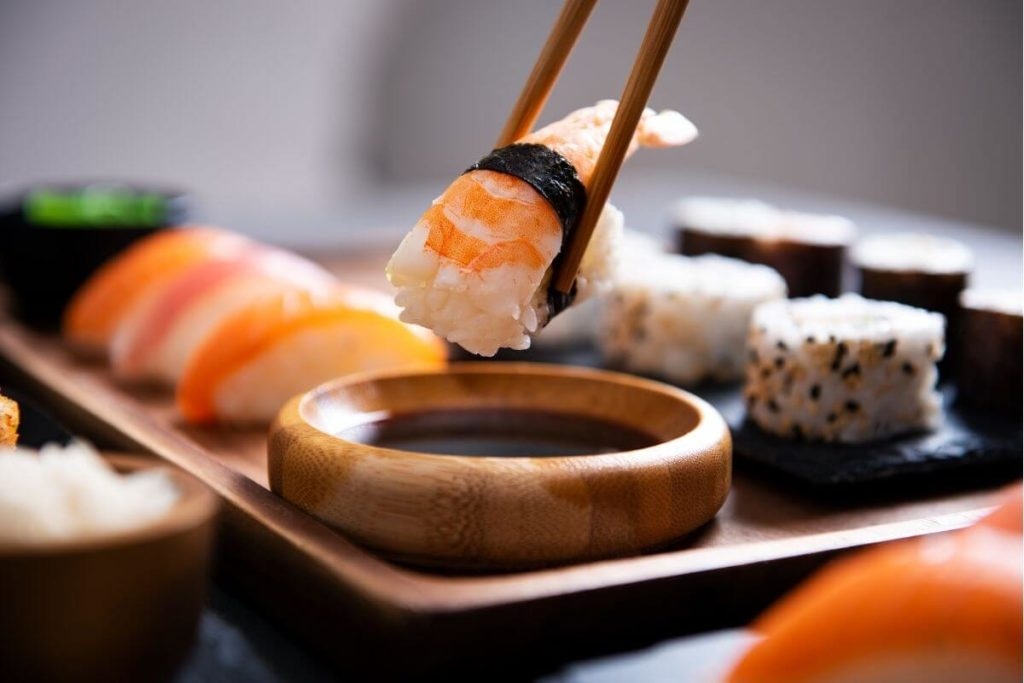 Sushi - Foods That Start with S