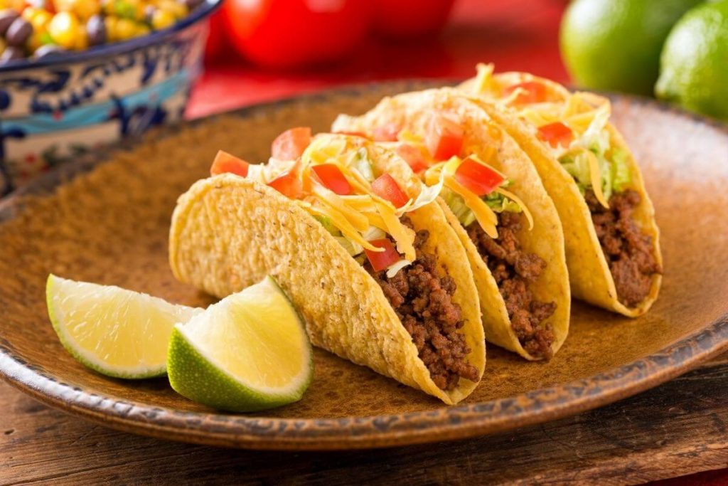Tacos - Foods that start with T
