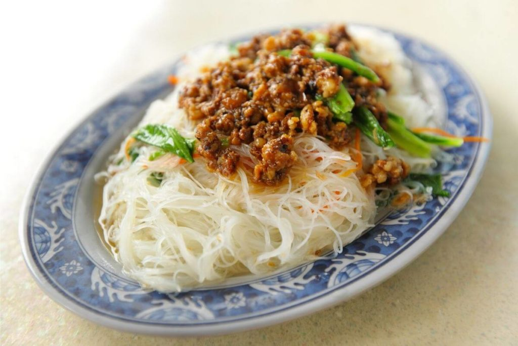 Vermicelli Noodles - Foods that start with V