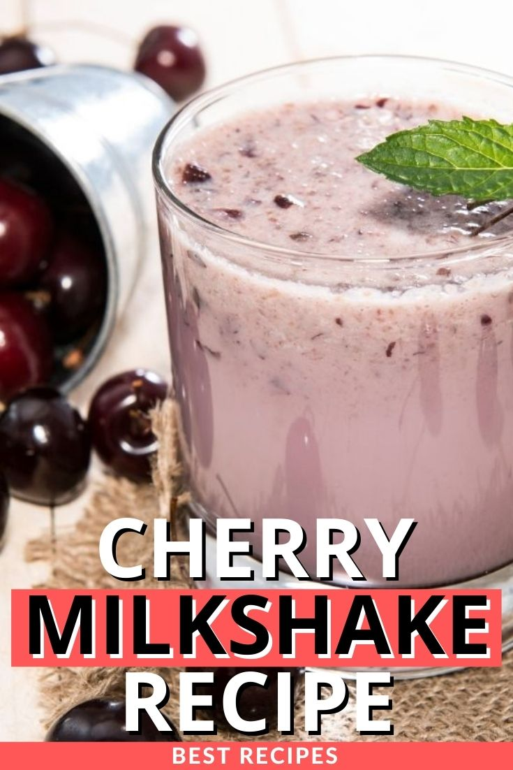 Cherry Milkshake Recipe