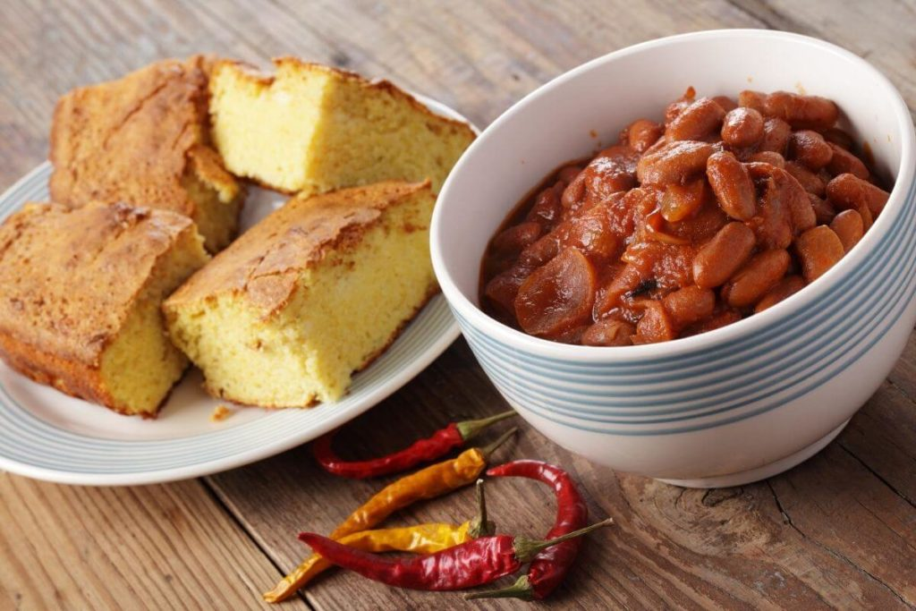Cornbread - What to serve with chile