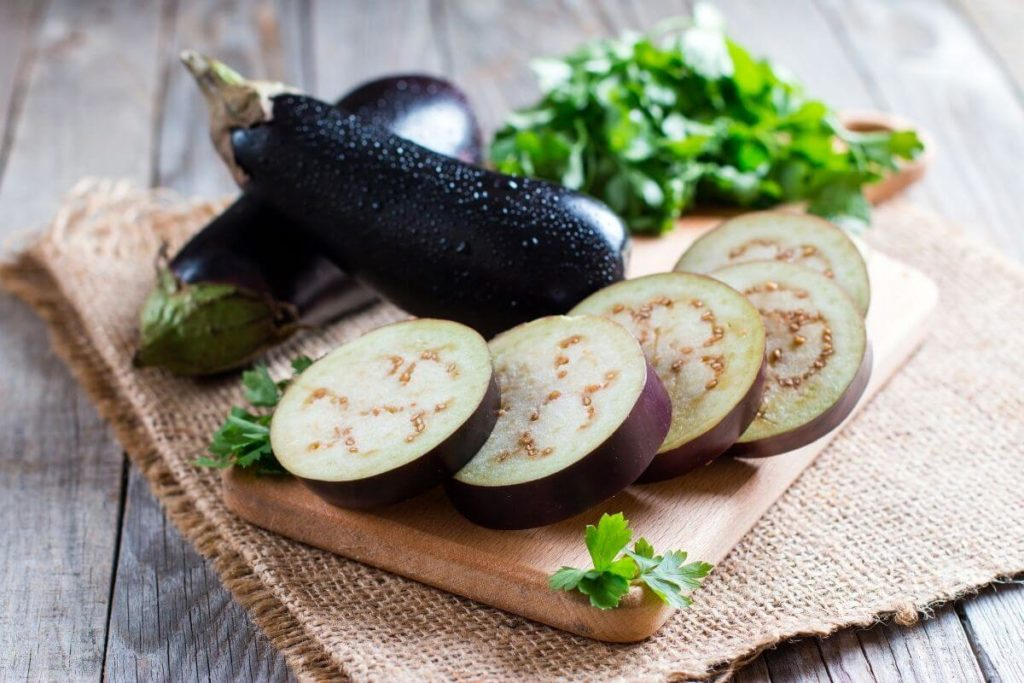 Eggplant - Substitute for Mushrooms
