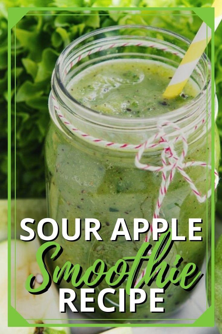 Sour Apple Smoothie Recipe