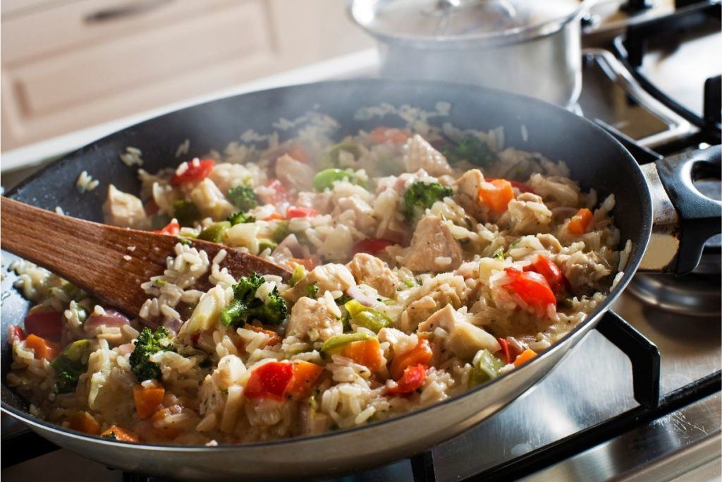 Using the Stove - How to Reheat Risotto