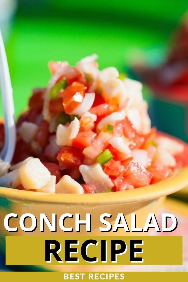 Conch Salad Recipe