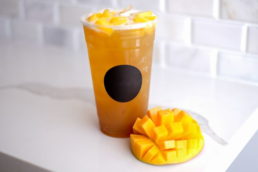 Copycat Starbucks Mango Black Tea Lemonade Recipe