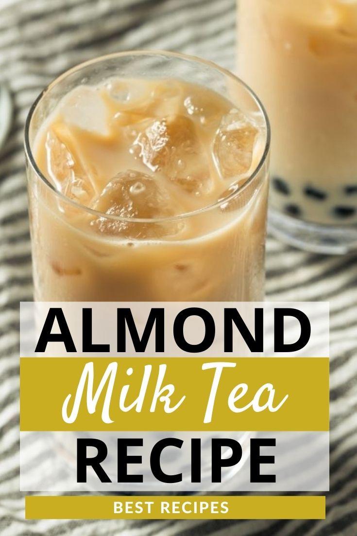 Iced Almond Milk Tea Recipe
