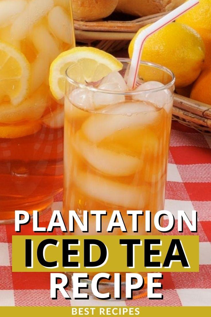 Plantation Iced Tea Recipe