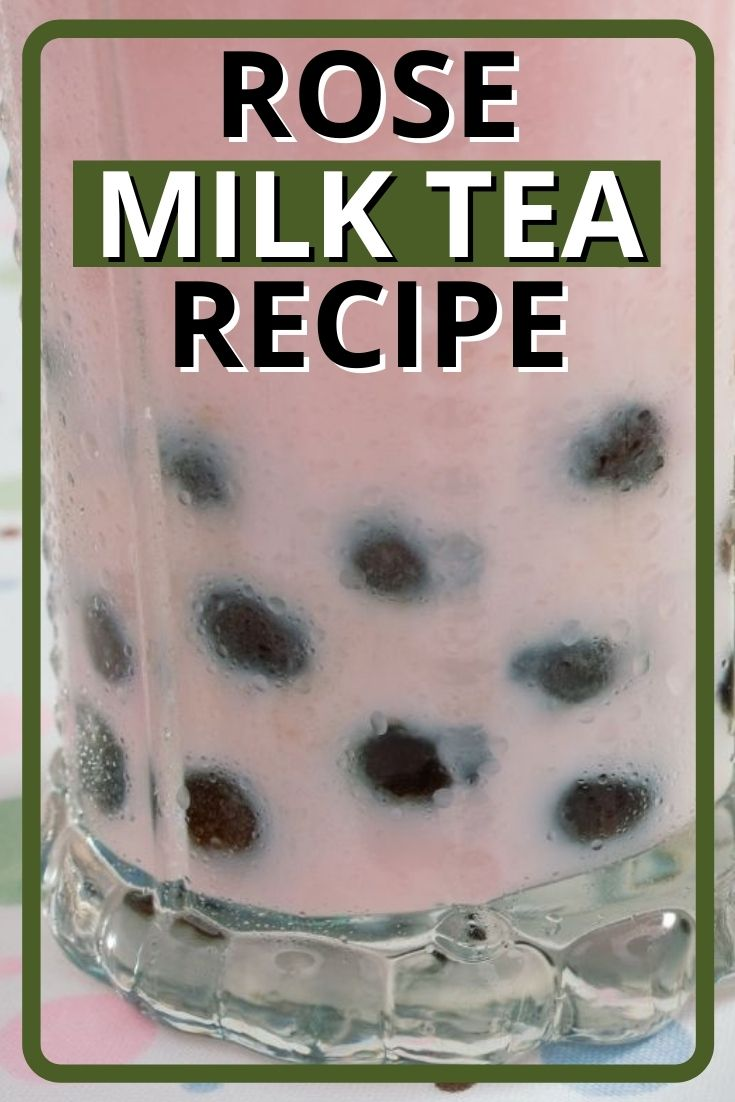 Rose Milk Tea Recipe