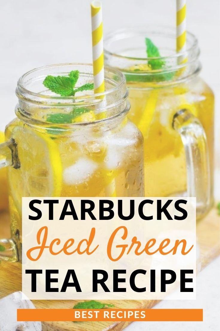 Starbucks Iced Green Tea Recipe