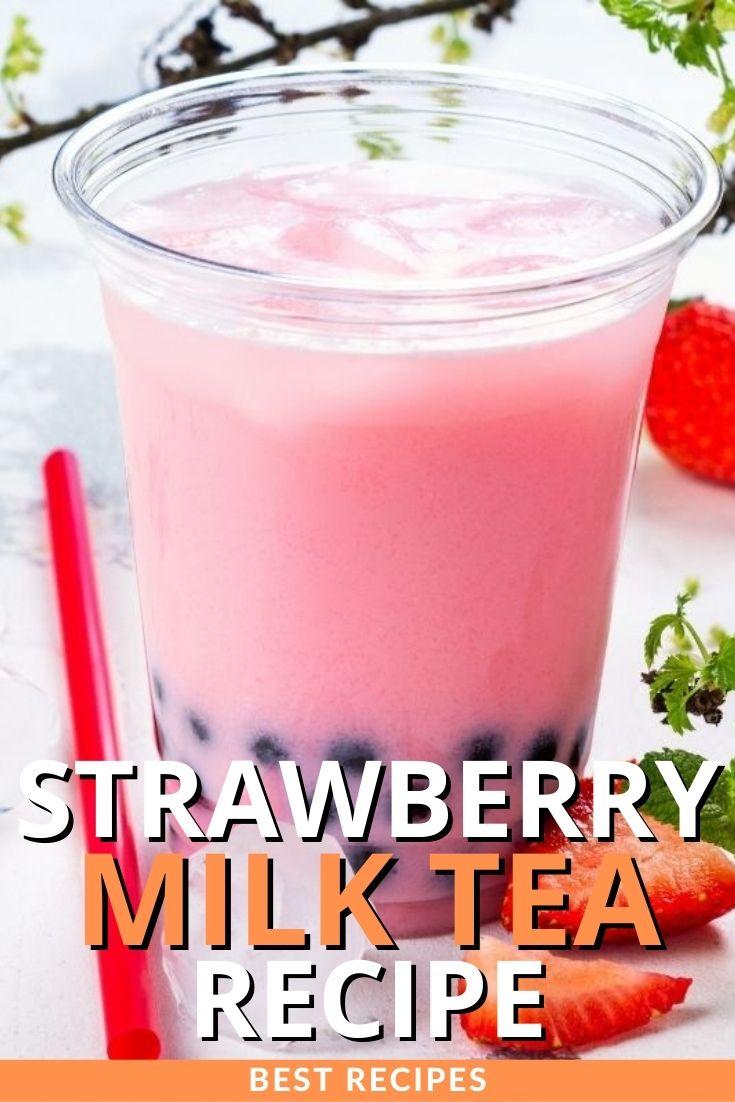 Strawberry Milk Tea Recipe