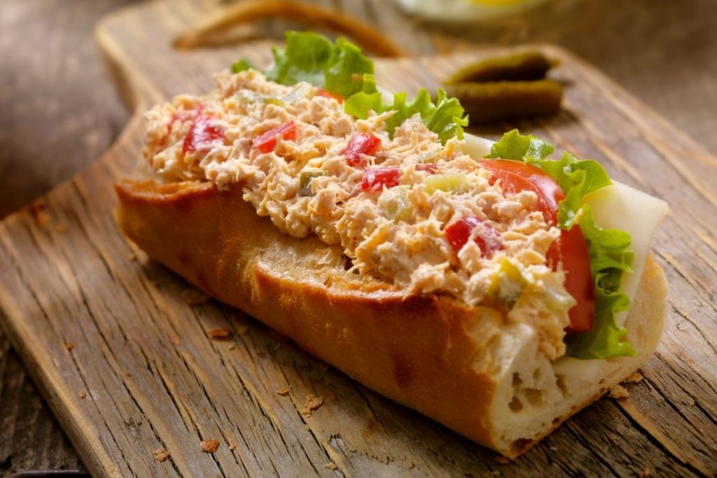 Subway Tuna Salad Sandwich Copycat Recipe